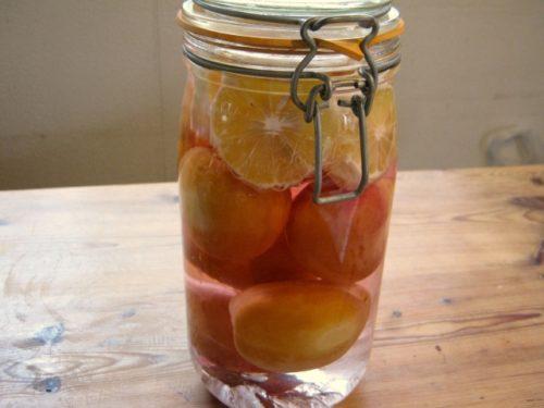 桃の果実酒