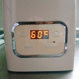 手作り甘酒6温度は60度