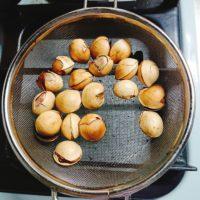 殻をむいた殻なし銀杏の保存方法。生のまま?加熱する?