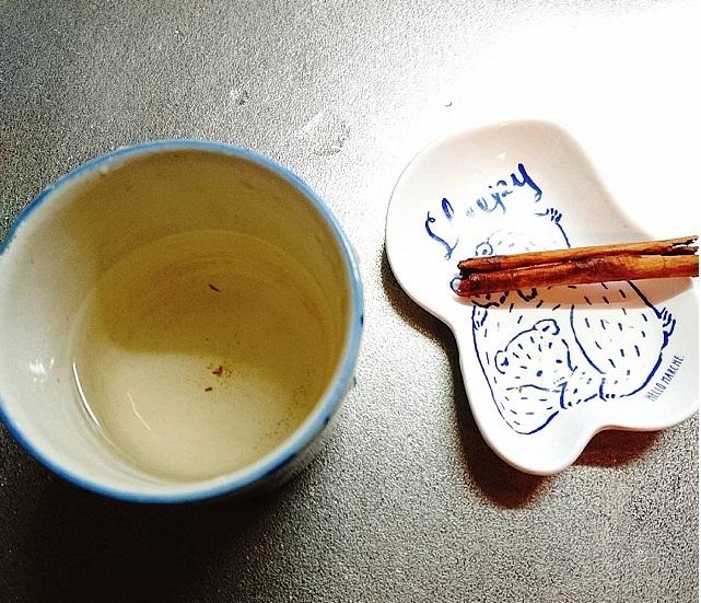 シナモン白湯