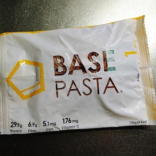 ベースフードの麺ベースパスタのデザイン変更パッケージ