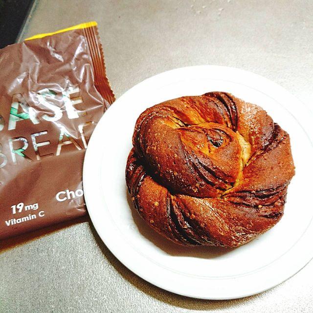 ベースフードのチョコレート甘いパン