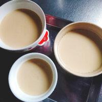 プリンを牛乳なしで作って食べ比べ!豆乳やアーモンドミルクでも簡単に作れる?