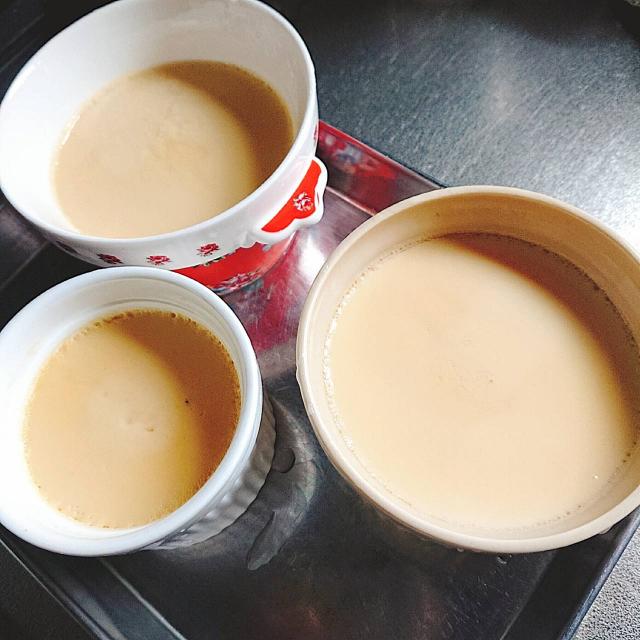 豆乳と卵と砂糖だけで作ったシンプル豆乳プリン